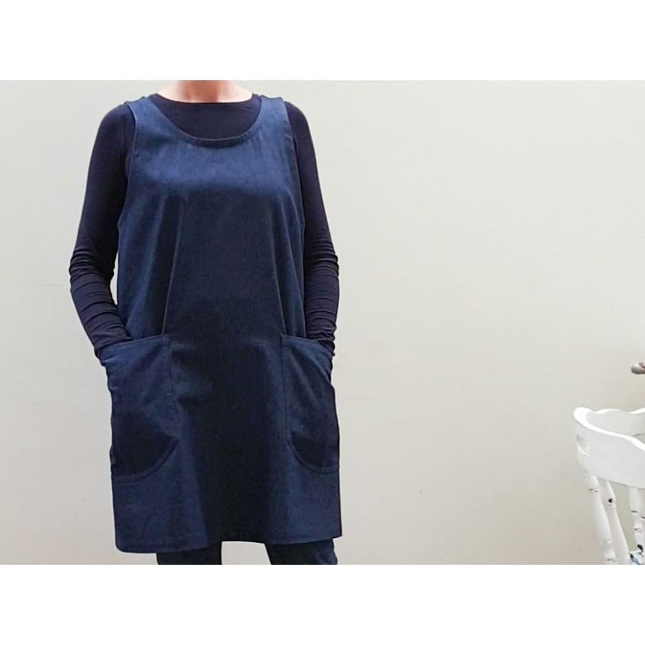 Cross Back Apron Sewing Kit
