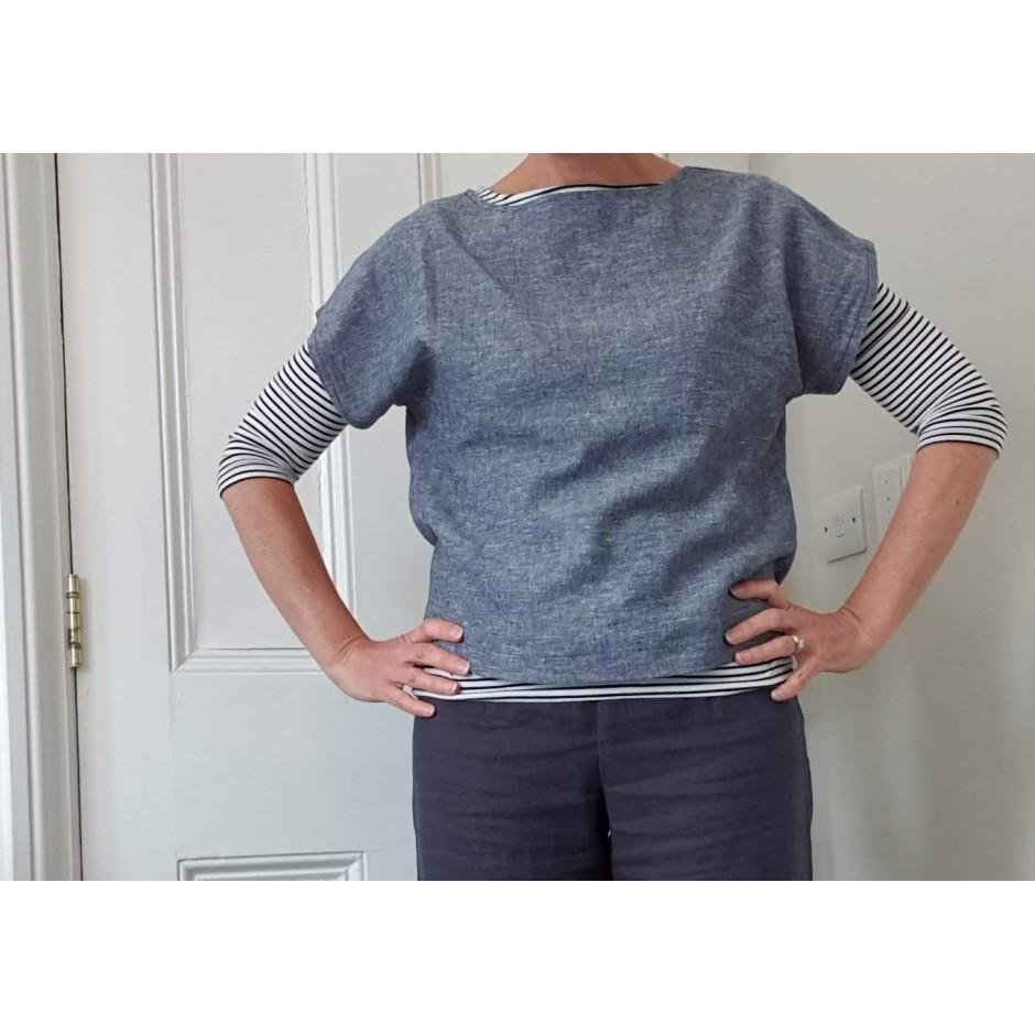 Nadia Top and Dress: Women's PDF Sewing Pattern