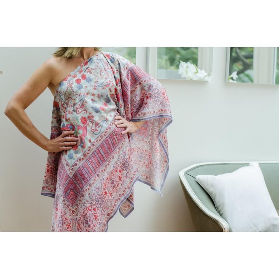 Assymmetric Silk Dress